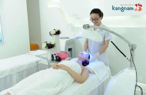 Điều trị mụn bằng Nano Skin tại Kangnam