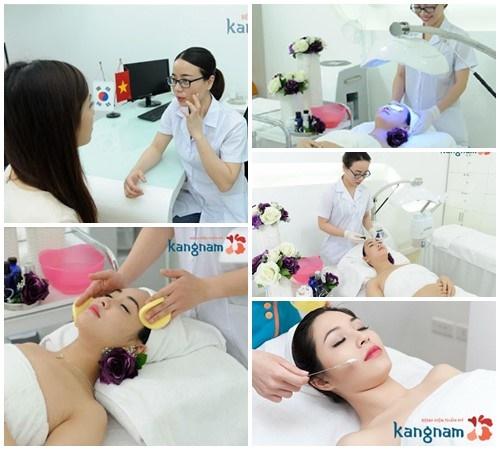 Quy trình trị mụn tại Kangnam đạt tiêu chuẩn chất lượng của Bộ Y tế