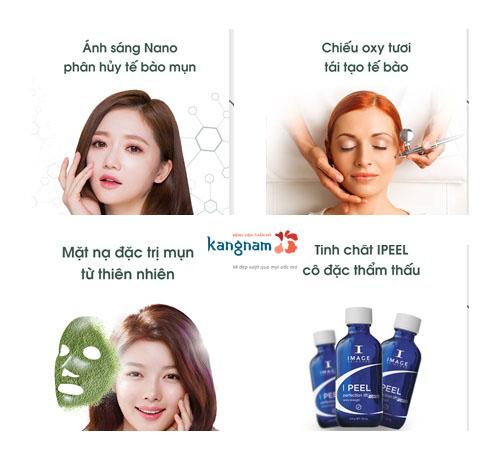 Chuyên khoa điều trị chuyên sâu tại Kangnam ứng dụng công nghệ Nano Skin tiên tiến