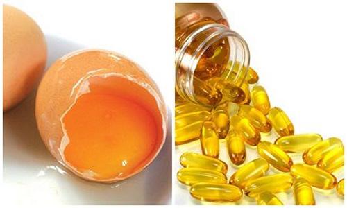 trị mụn và thâm bằng vitamin e