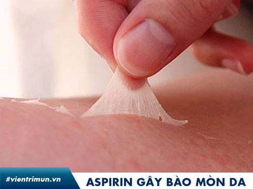 aspirin trị mụn webtretho