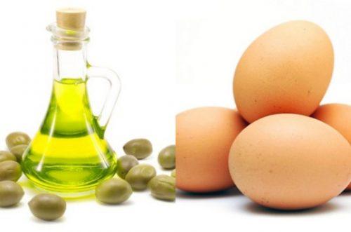 cách trị mụn cám trên mặt bằng trứng gà