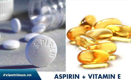 trị mụn bằng thuốc kháng sinh aspirin
