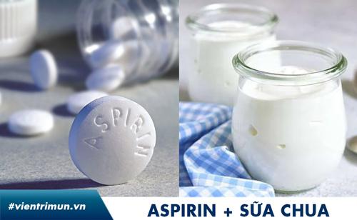 trị mụn bằng aspirin ph8