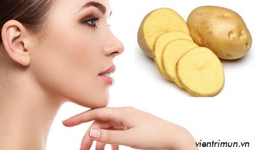 đắp mặt nạ khoai tây nhiều có tốt không