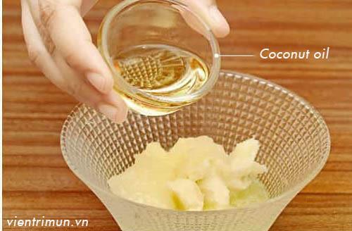 đắp mặt nạ dầu dừa mỗi ngày