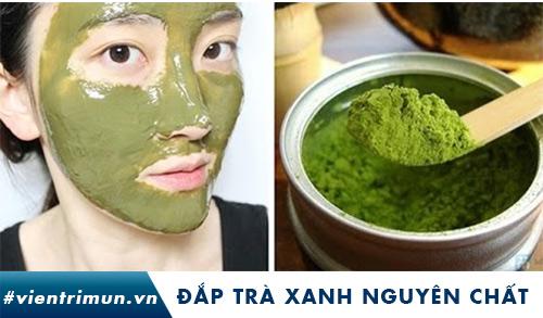 mặt nạ bột trà xanh