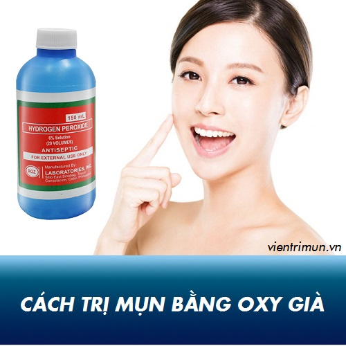 oxy già trị mụn