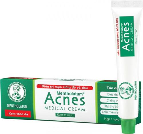 kem trị mụn acne