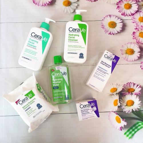 review sữa rửa mặt cerave