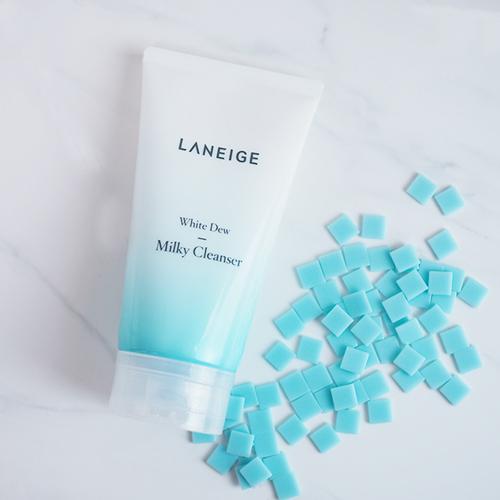 sữa rửa mặt laneige white dew milky cleanser