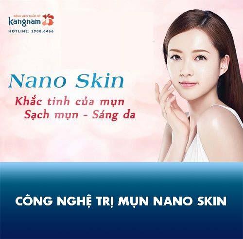 công nghệ trị mụn nano skin