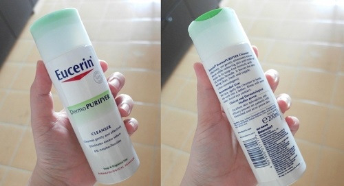 sữa rửa mặt eucerin cho da dầu