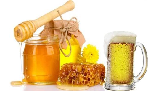 mặt nạ bia mật ong