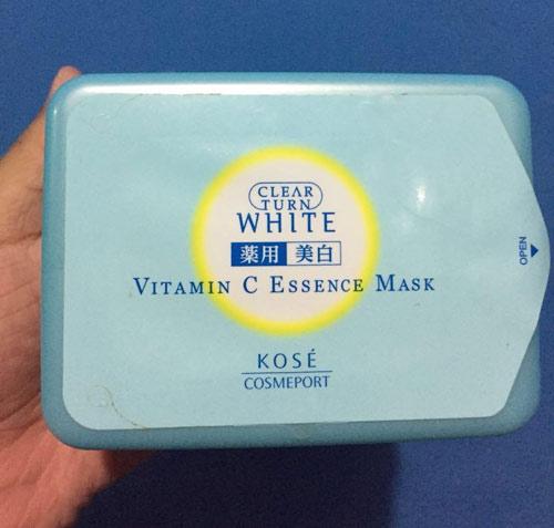 mặt nạ vitamin c kose