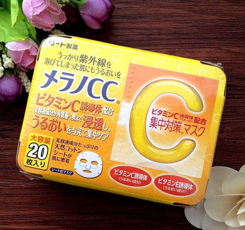 mặt nạ vitamin c nhật