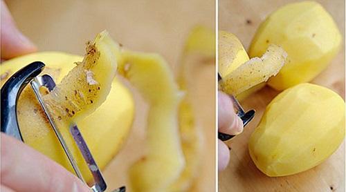 mẹo mụn bọc ở mũi bằng khoai tây