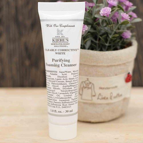 sữa rửa mặt kiehl's purifying foaming cleanser