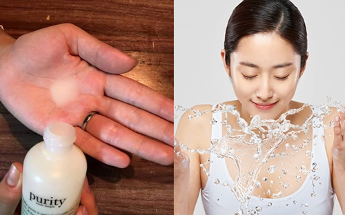sữa rửa mặt purity review