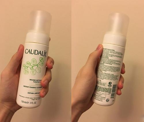 sữa rửa mặt caudalie instant foaming cleanser