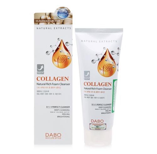 sữa rửa mặt dabo collagen