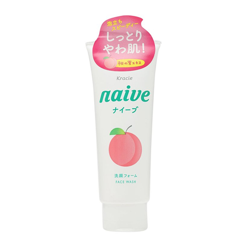 sữa rửa mặt kracie naive peach
